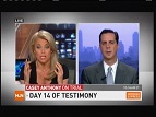06/09/11: Attorney Keith Murray on CNN/HLN discussing prosection and defense trial strategies in the Casey Anthony Trial.